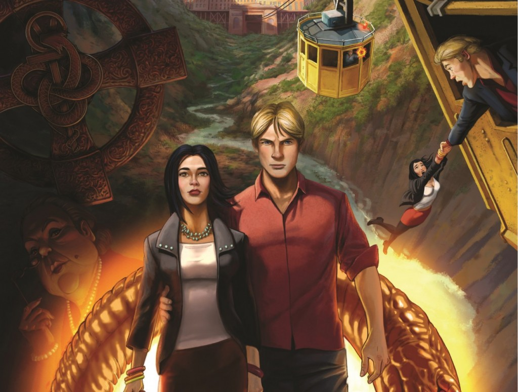 OMUK - Boxart: Broken Sword 5: The Serpent's Curse