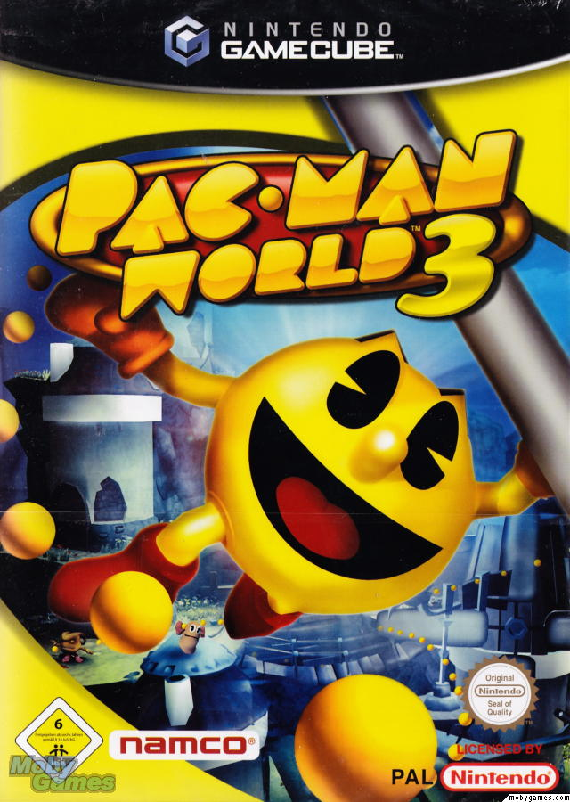 OMUK - Boxart: Pac-Man World 3