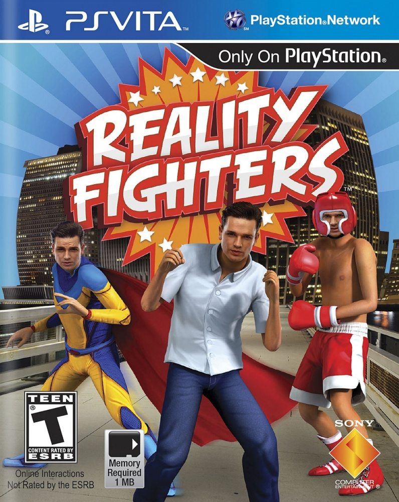 OMUK - Boxart: Reality Fighters