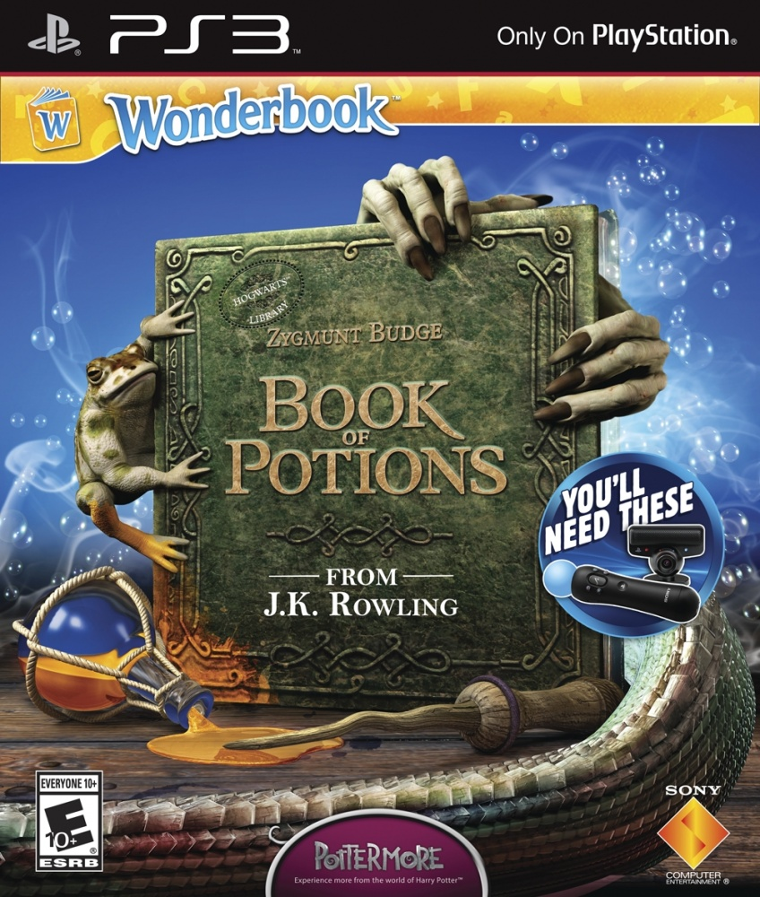OMUK - Boxart: Wonderbook: Book of Potions
