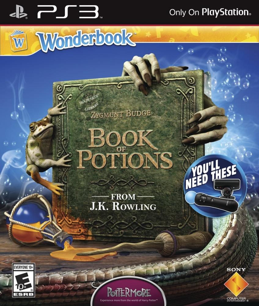 OMUK - Boxart: Wonderbook: Book of Potions