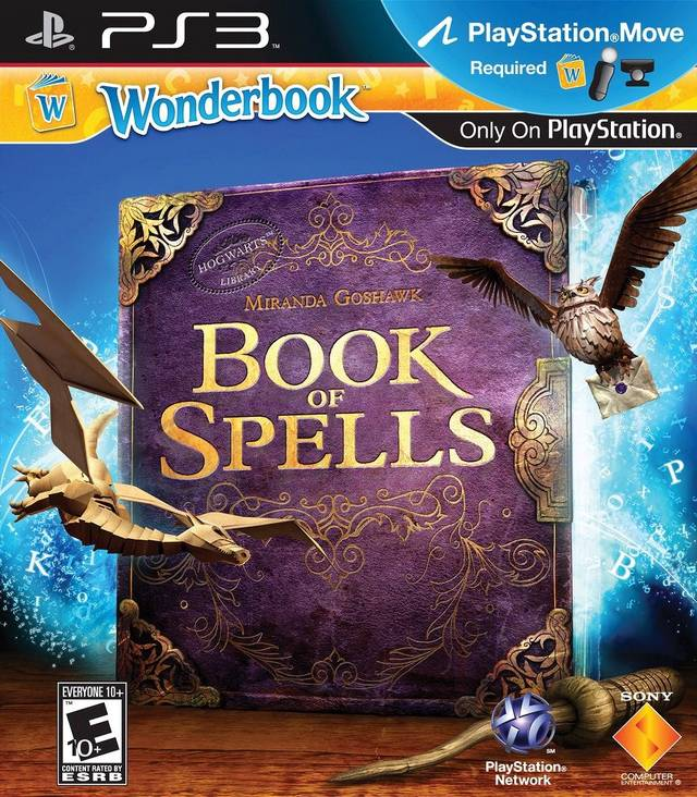 OMUK - Boxart: Wonderbook: Book of Spells