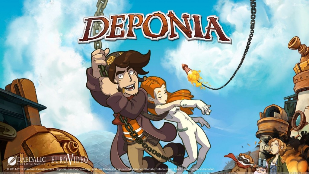 OMUK - Screenshot: Deponia Series