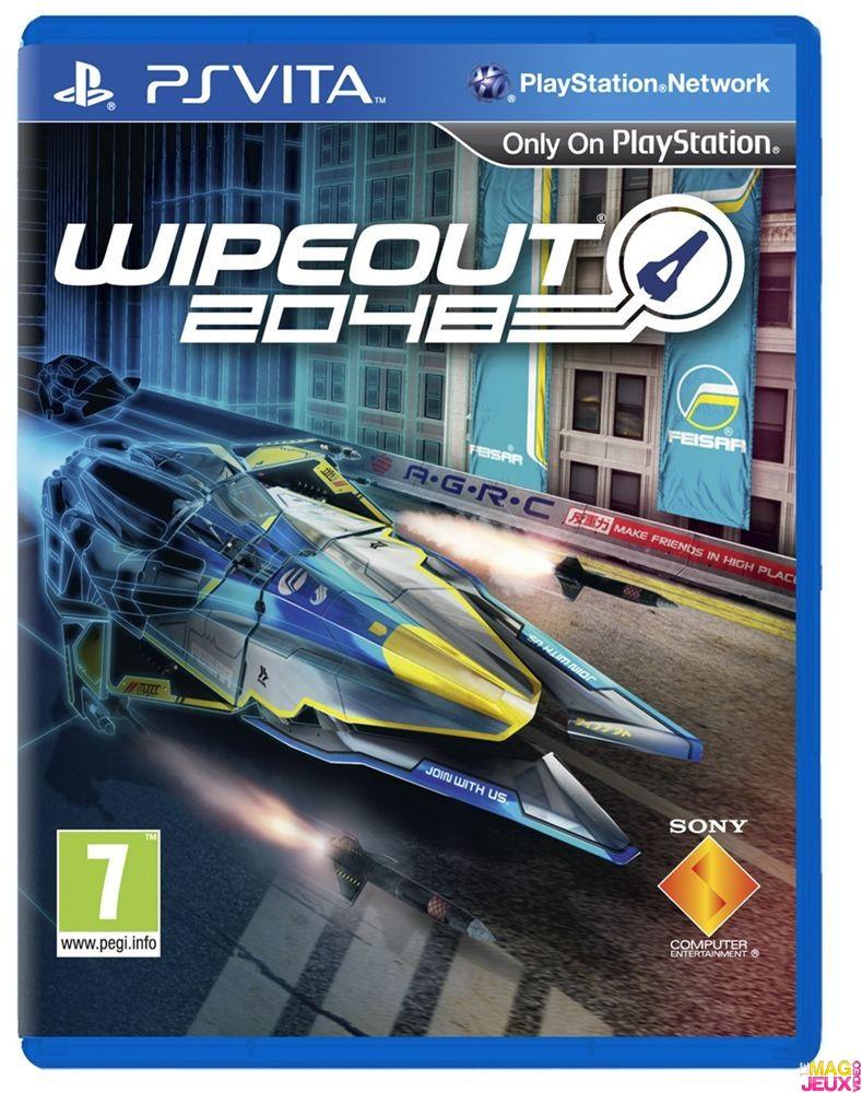 OMUK - Boxart: Wipeout 2048
