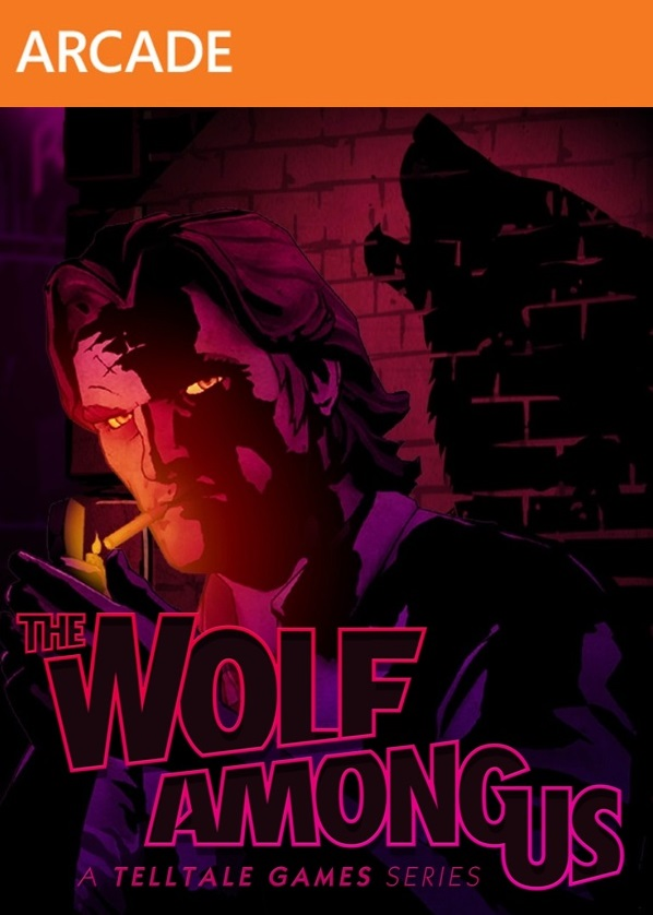 OMUK - Boxart: The Wolf Among Us