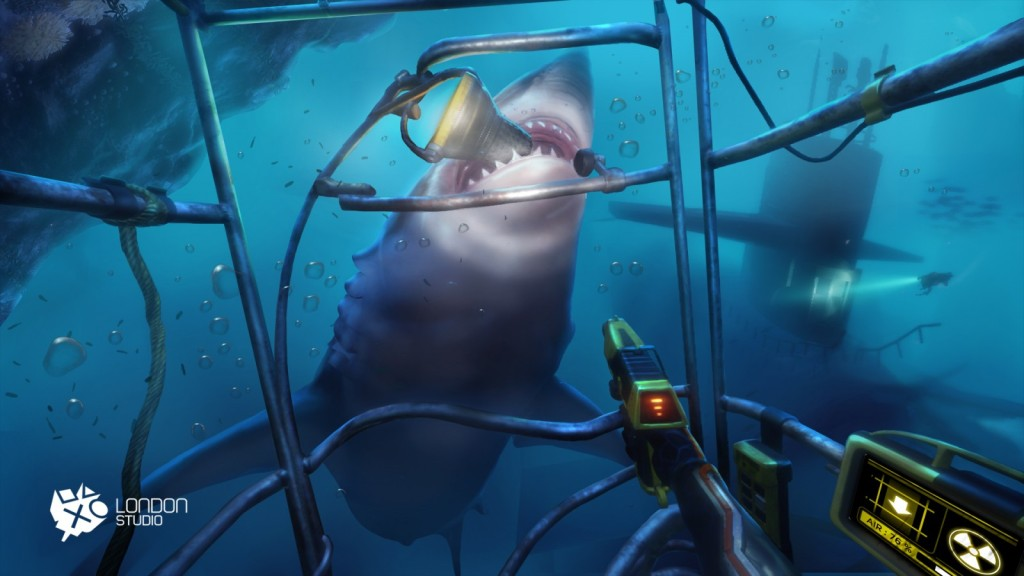 OMUK - Boxart: Sony's VR Project Morpheus Demo: The Deep
