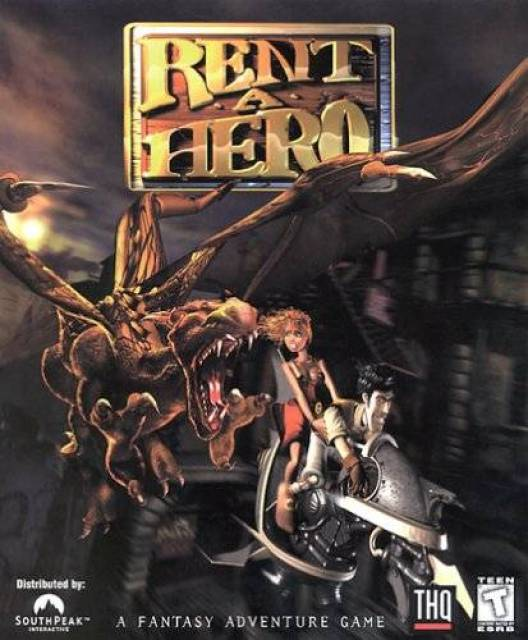 OMUK - Boxart: Rent-a-Hero