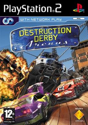 OMUK - Boxart: Destruction Derby Arenas