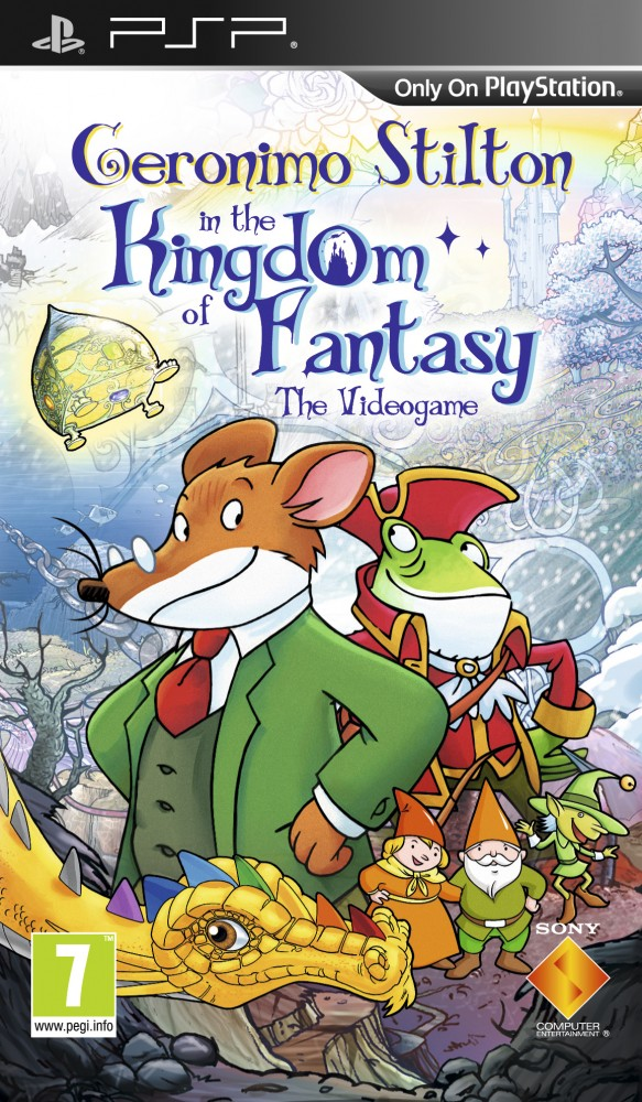 OMUK - Boxart: Geronimo Stilton In The Kingdom Of Fantasy