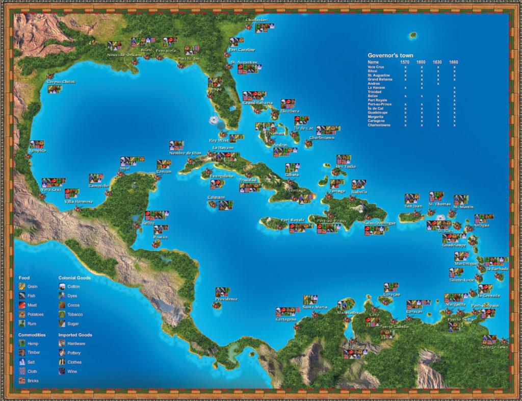 OMUK - Screenshot: Port Royale