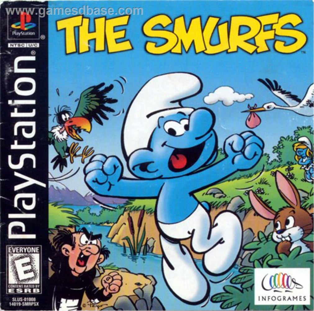 OMUK - Screenshot: The Smurfs (Infogrames)