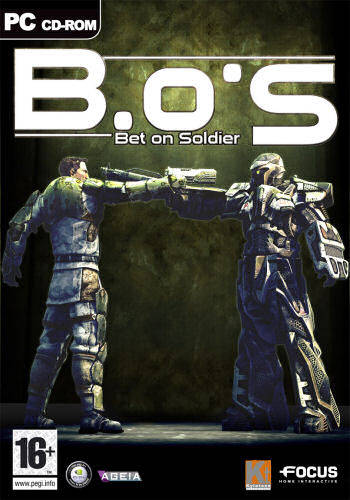 OMUK - Boxart: Bet on Soldier