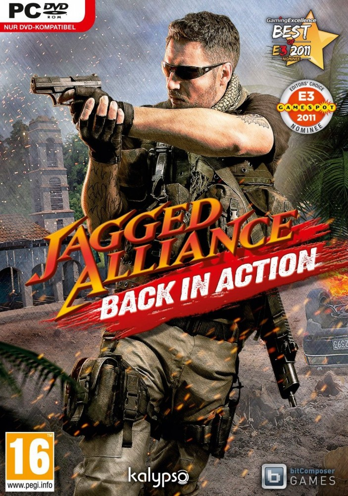 OMUK - Boxart: Jagged Alliance: Back In Action