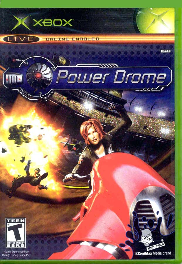 OMUK - Boxart: Power Drome