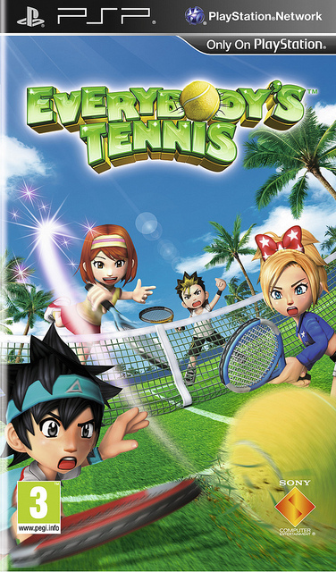 OMUK - Boxart: Everybody's Tennis