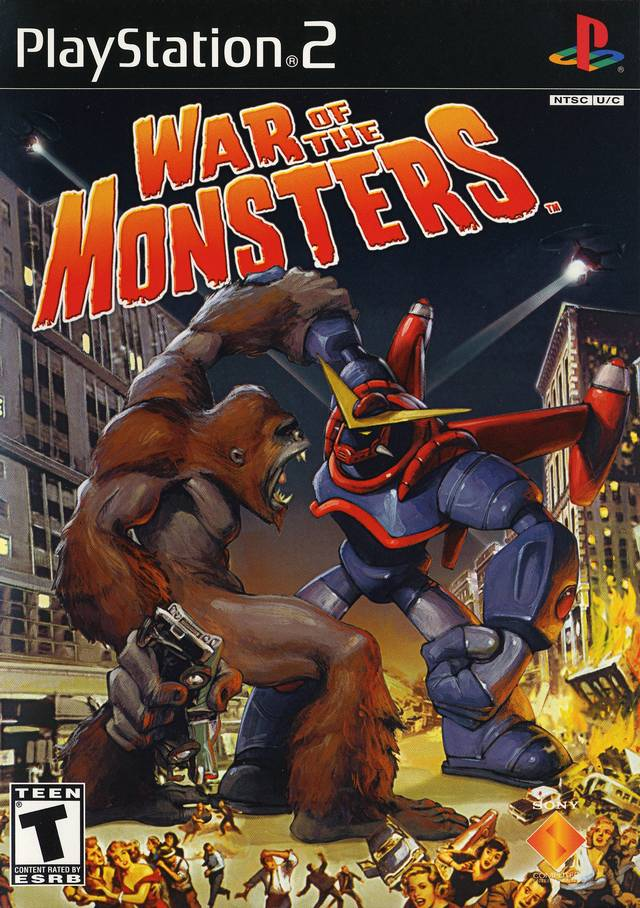 OMUK - Boxart: War of the Monsters