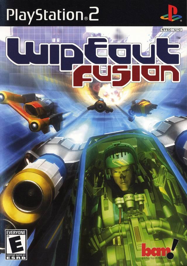 OMUK - Boxart: WipEout Fusion