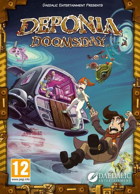 OMUK - Boxart: Deponia Doomsday