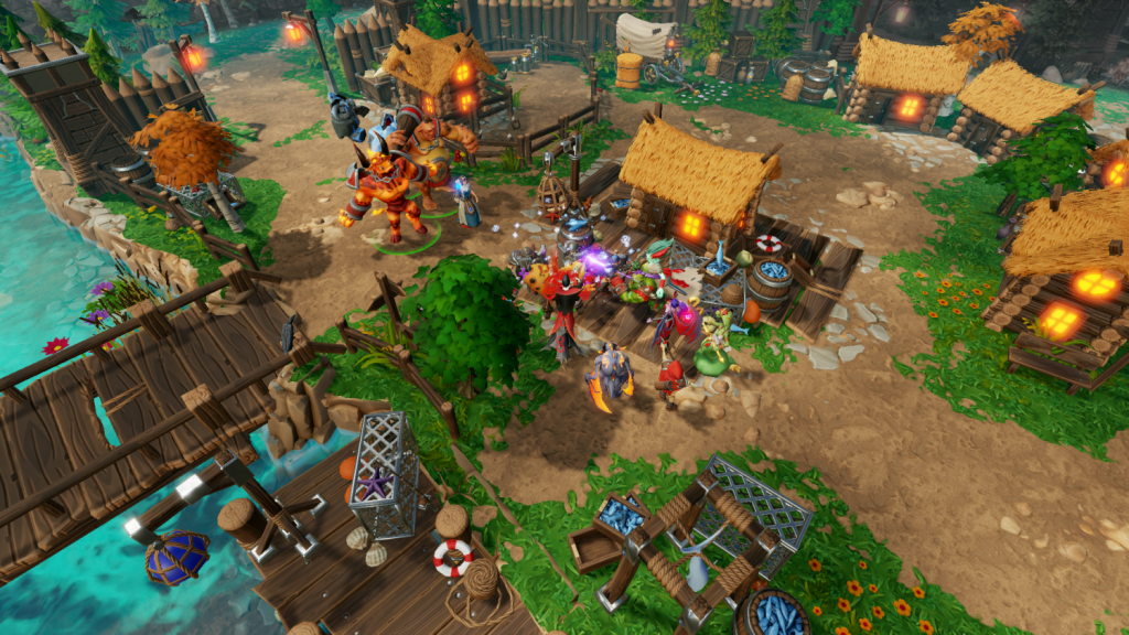 OMUK - Screenshot: Dungeons 3