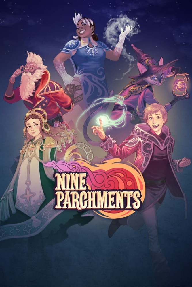 OMUK - Boxart: Nine Parchments