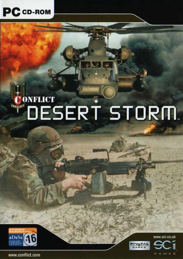 OMUK - Boxart: Conflict: Desert Storm