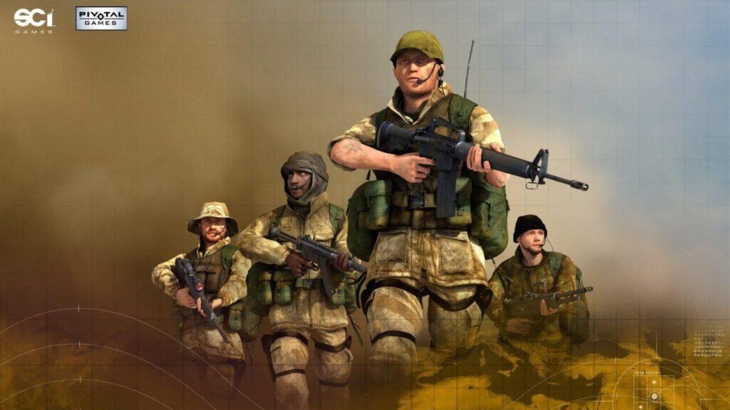 OMUK - Screenshot: Conflict: Desert Storm