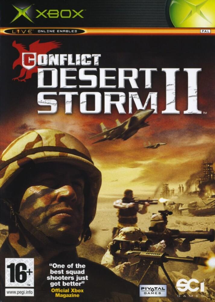OMUK - Boxart: Conflict: Desert Storm II