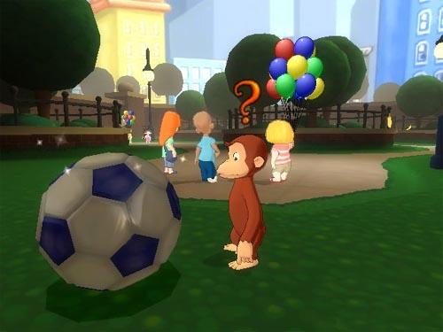 OMUK - Screenshot: Curious George