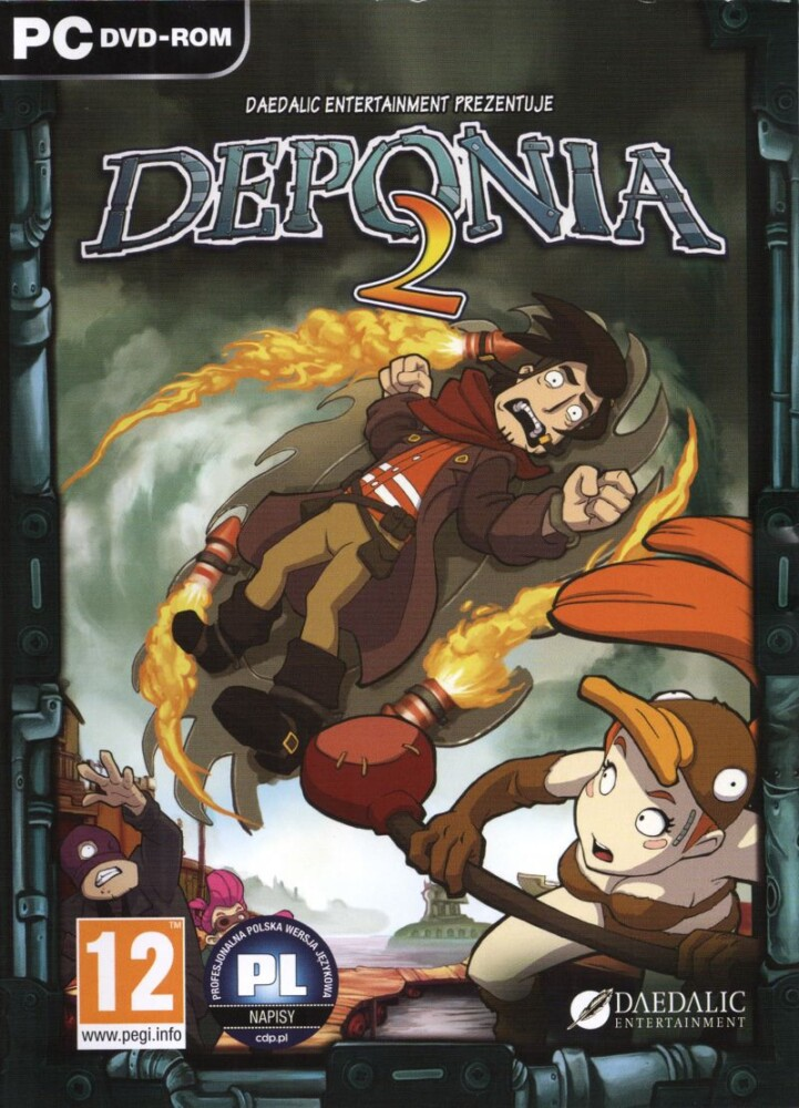 OMUK - Boxart: Chaos on Deponia