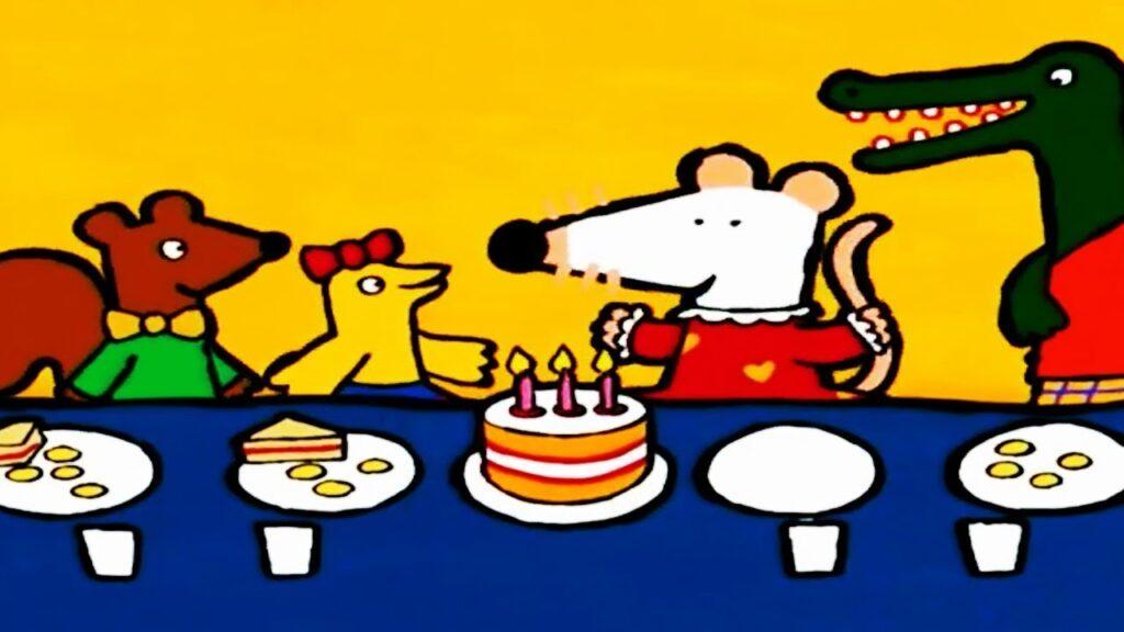 OMUK - Screenshot: Happy Birthday Maisy