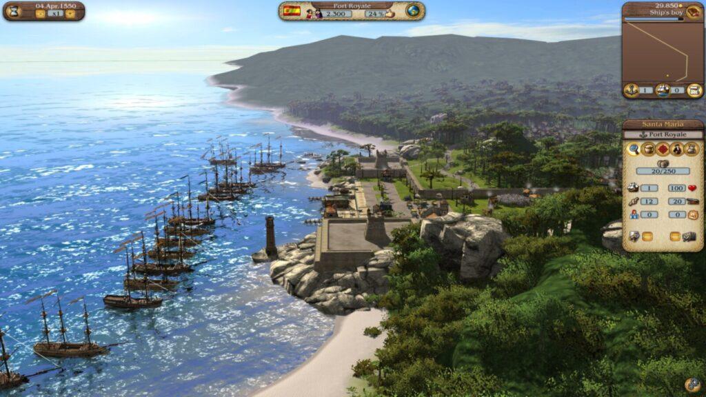 OMUK - Screenshot: Port Royal 3